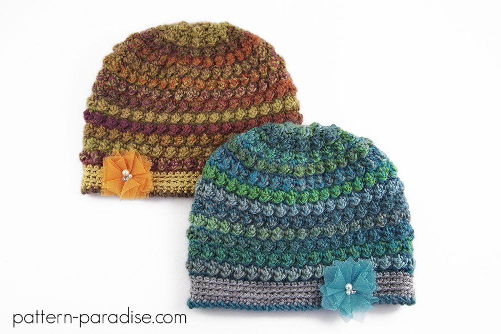 Bobbleberry Hat: #12WeeksChristmasCAL Week 11 | Crochet Pattern and ...