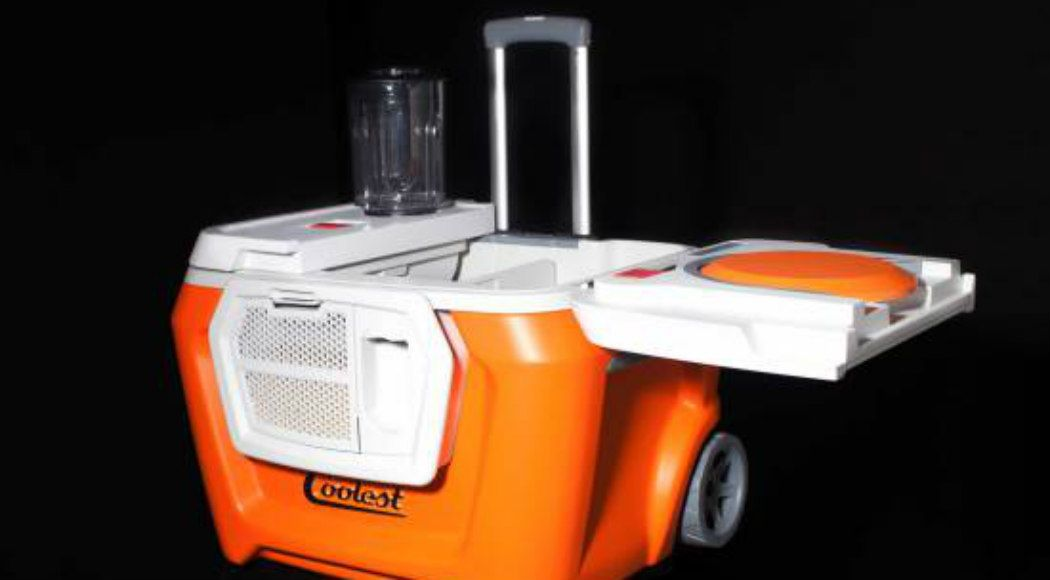 Coolest Cooler And Zano Drone