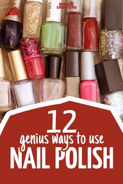 These LIFE HACKS using nail polish are genius!
