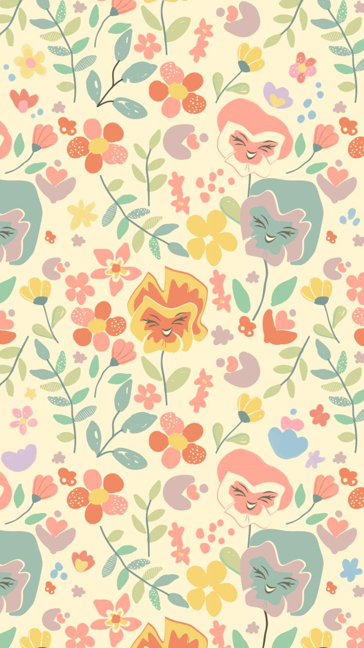 Celebrate Spring With These Disney Family Phone Wallpapers