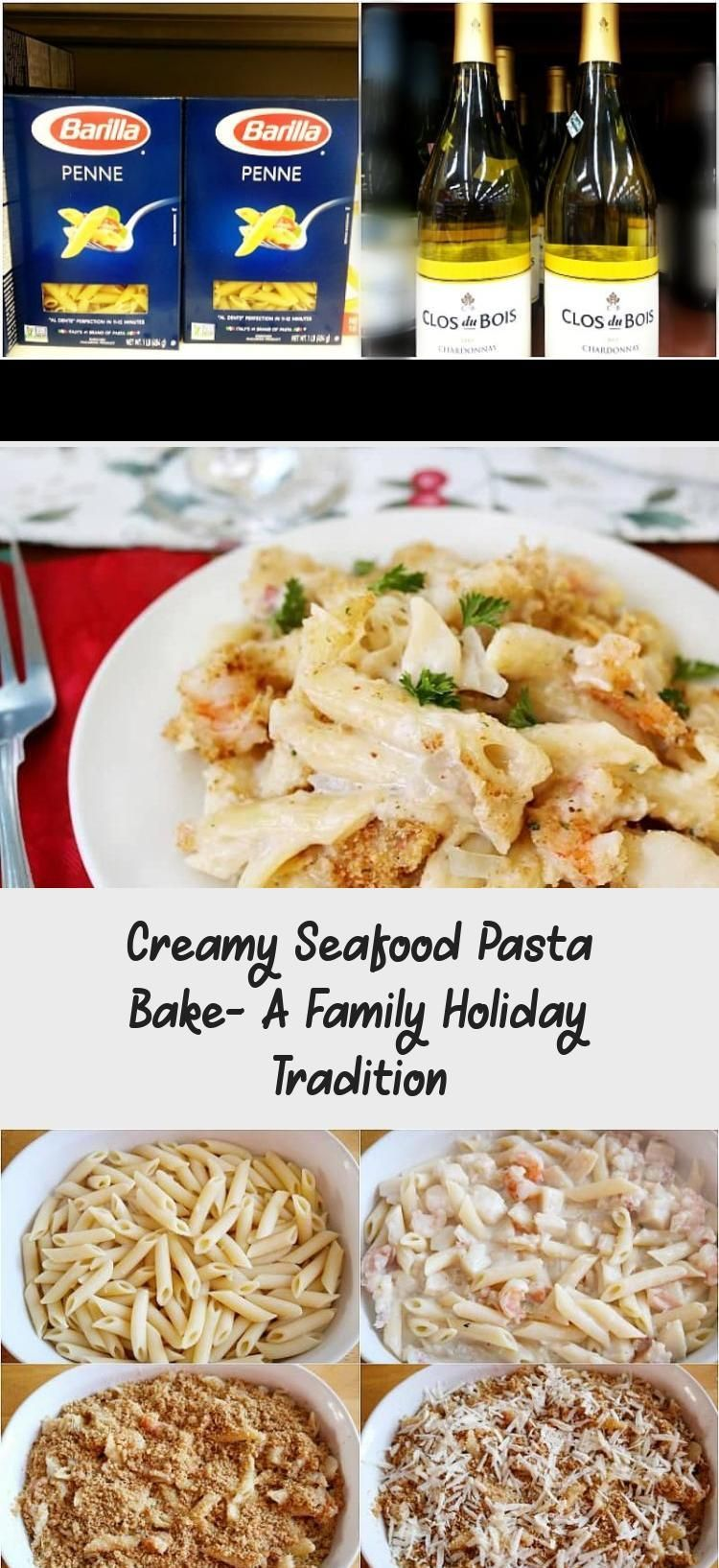 Creamy Seafood Pasta Bake- A Family Holiday Tradition #seafoodrecipeTuna #seafoo...,  #Bake #Creamy #Family #freshseafood #Holiday #Pasta #seafoo #Seafood #seafoodbake #seafoodcasserole #seafoodchowder #seafoodrecipeTuna #Tradition
