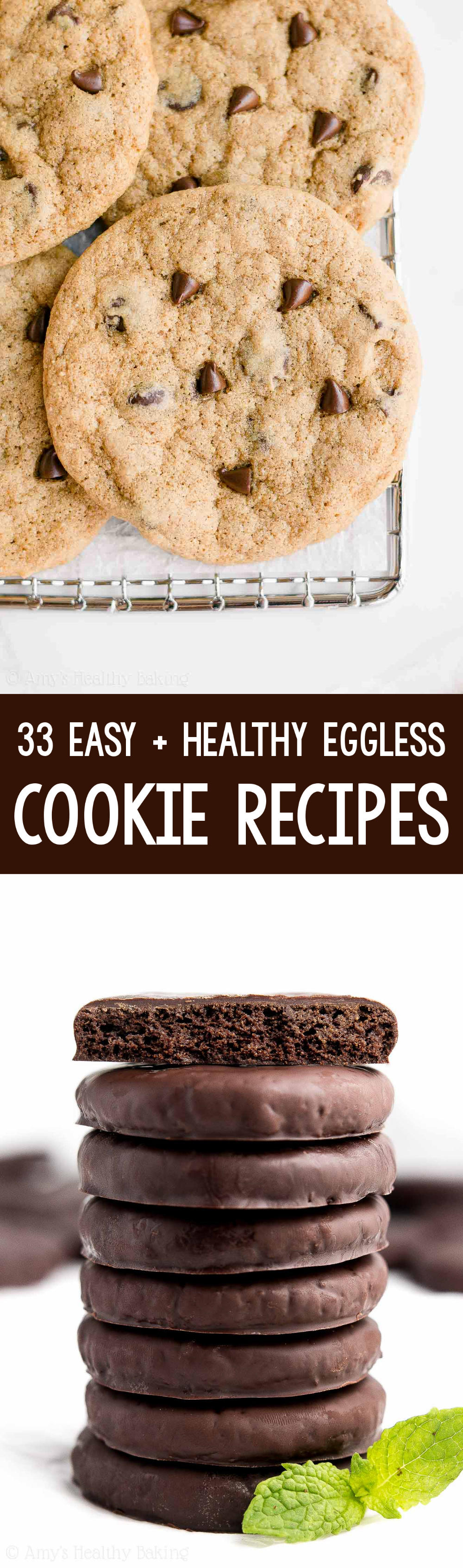 The Best Ever Easy Healthy Eggless Cookie Recipes Amy S Healthy Baking In 2020 Eggless Cookie Recipes Cookie Recipes Eggless Cookies