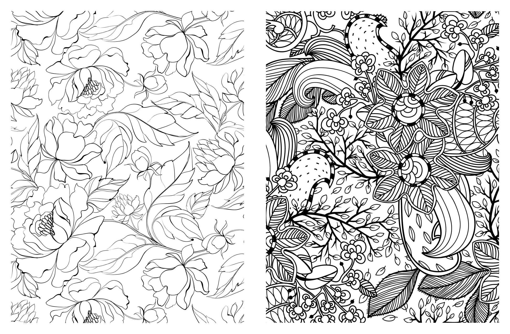 Vintage Patterns Coloring Pages. Amazon com  Posh Adult Coloring Book Pretty Designs for Fun Relaxation