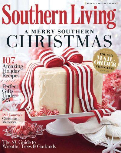 Southern Living Subscription Southern Christmas Holiday Cakes Christmas Cake