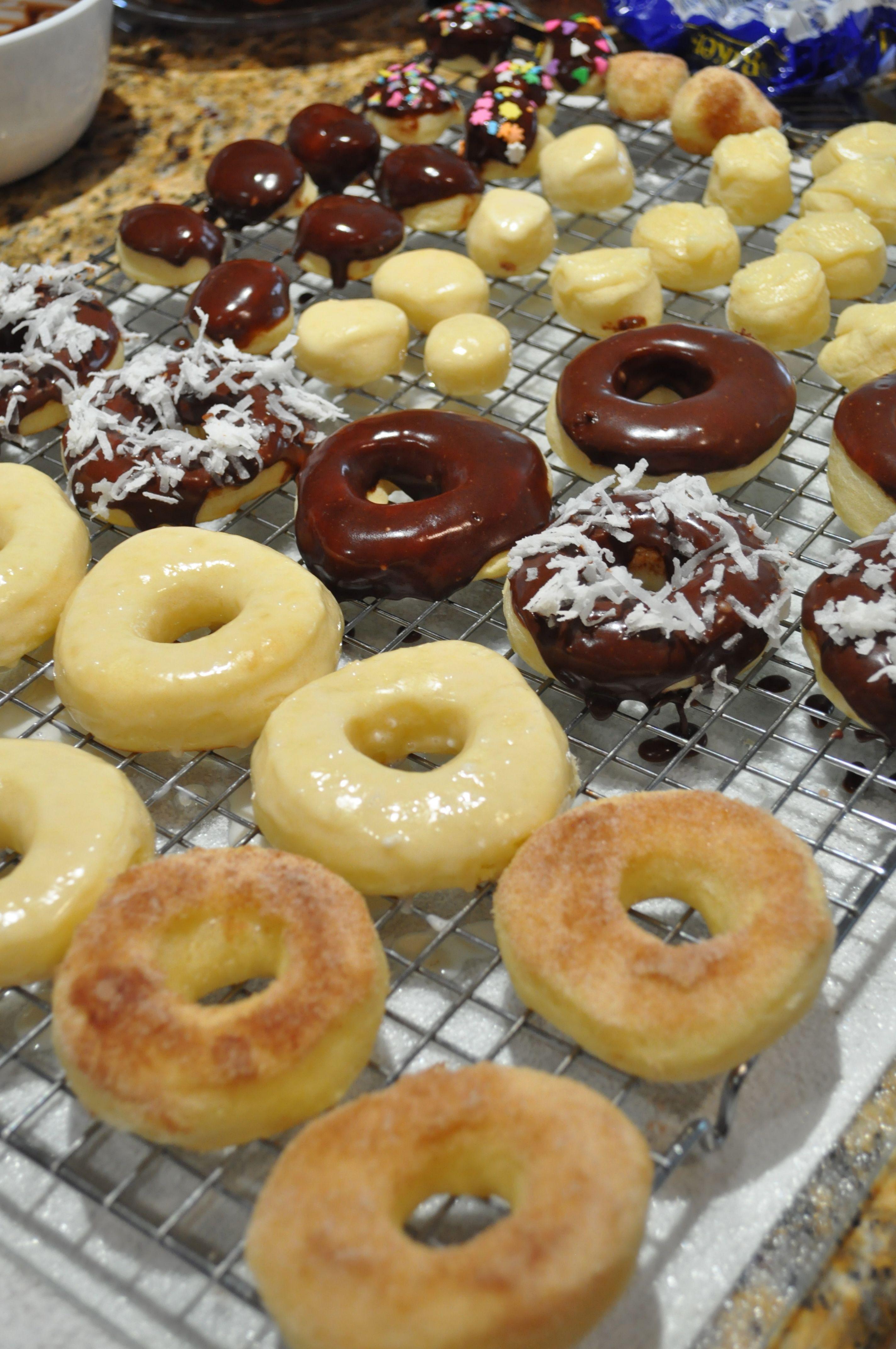 Baked yeast donuts annies chamorro kitchen yeast