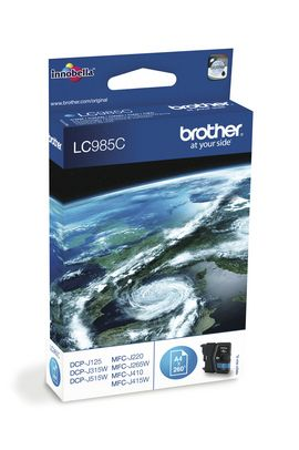 Cartucho Ink Jet Brother Lc985c Cyan Cartuchos Toners Impresora