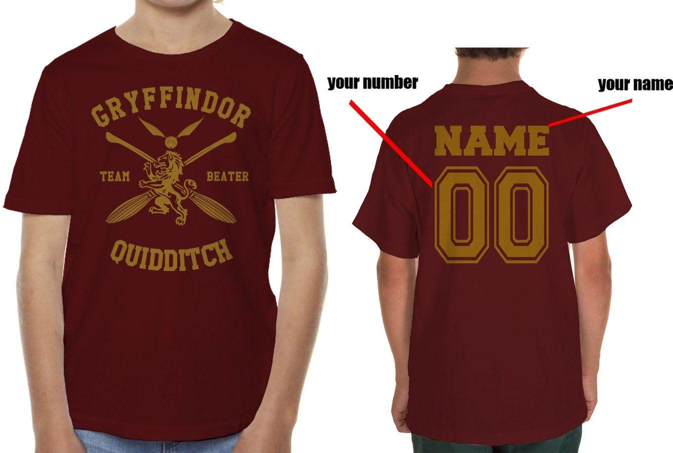 b10728dd5 Customize - New Gryffindor CHASER Quidditch Team Men T-shirt tee ...