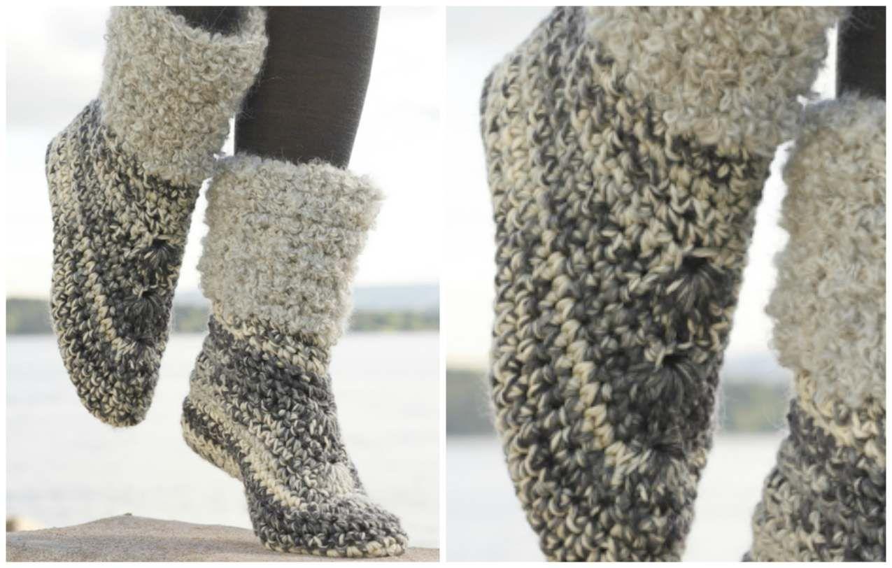 Pocahontas shoes, Excellent Cozies boots. [Patterns]