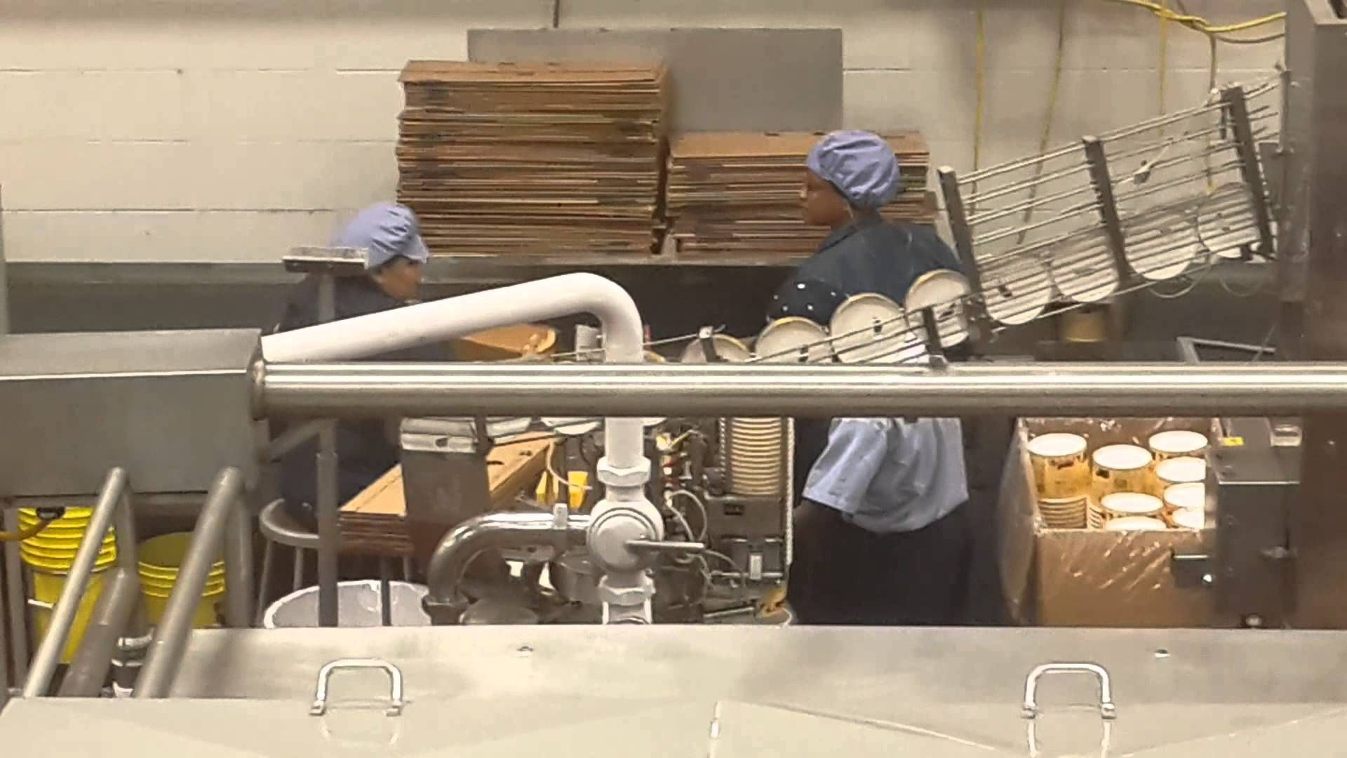 AN INSIDE LOOK AT THE BLUE BELL ICE CREAM FACTORY!
