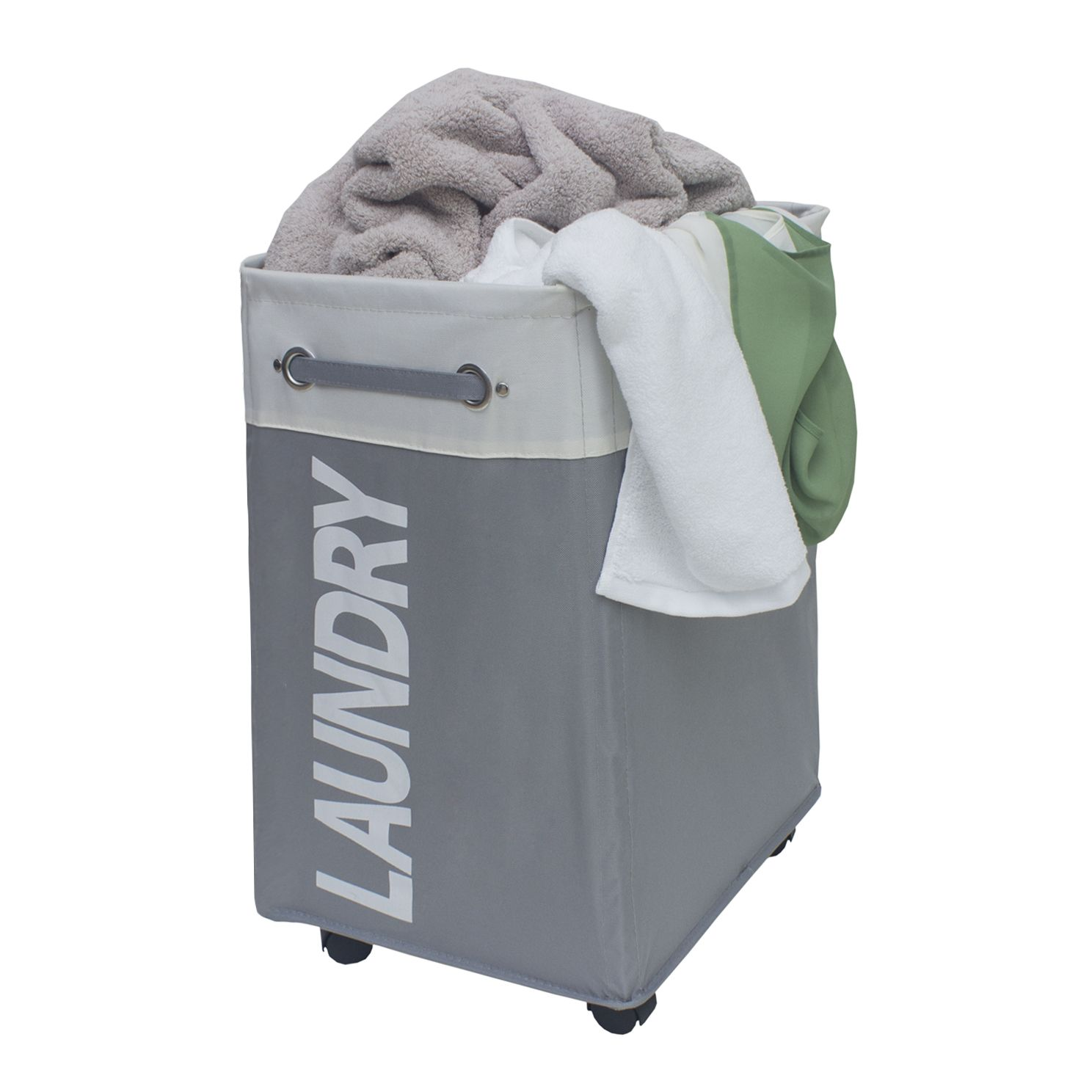 Large Rolling Laundry Hamper
