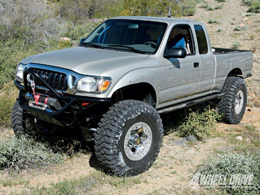 2001 Toyota Tacoma Buildup Bilstein Shocks 4 Wheel Drive Sport Utility Magazine Four Wheeler Network 2001 Toyota Tacoma Custom Trucks Toyota Tacoma