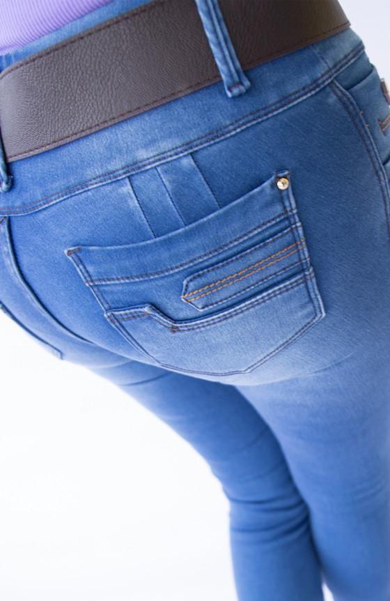 9384c24267a JEAN CON BOLSILLO (Stone medio) | Quick saves | Jeans ajustados ...