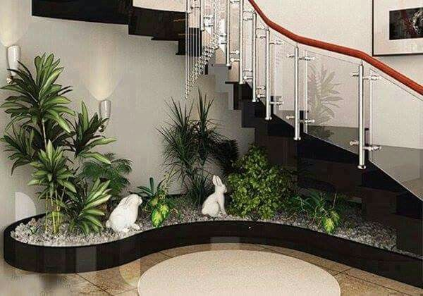 easy modern stairs design indoor. 19 Vibrant Small Indoor Gardens You Can Get Inspired From  Top Inspirations Jardines decoration Pinterest Staircases and Interiors