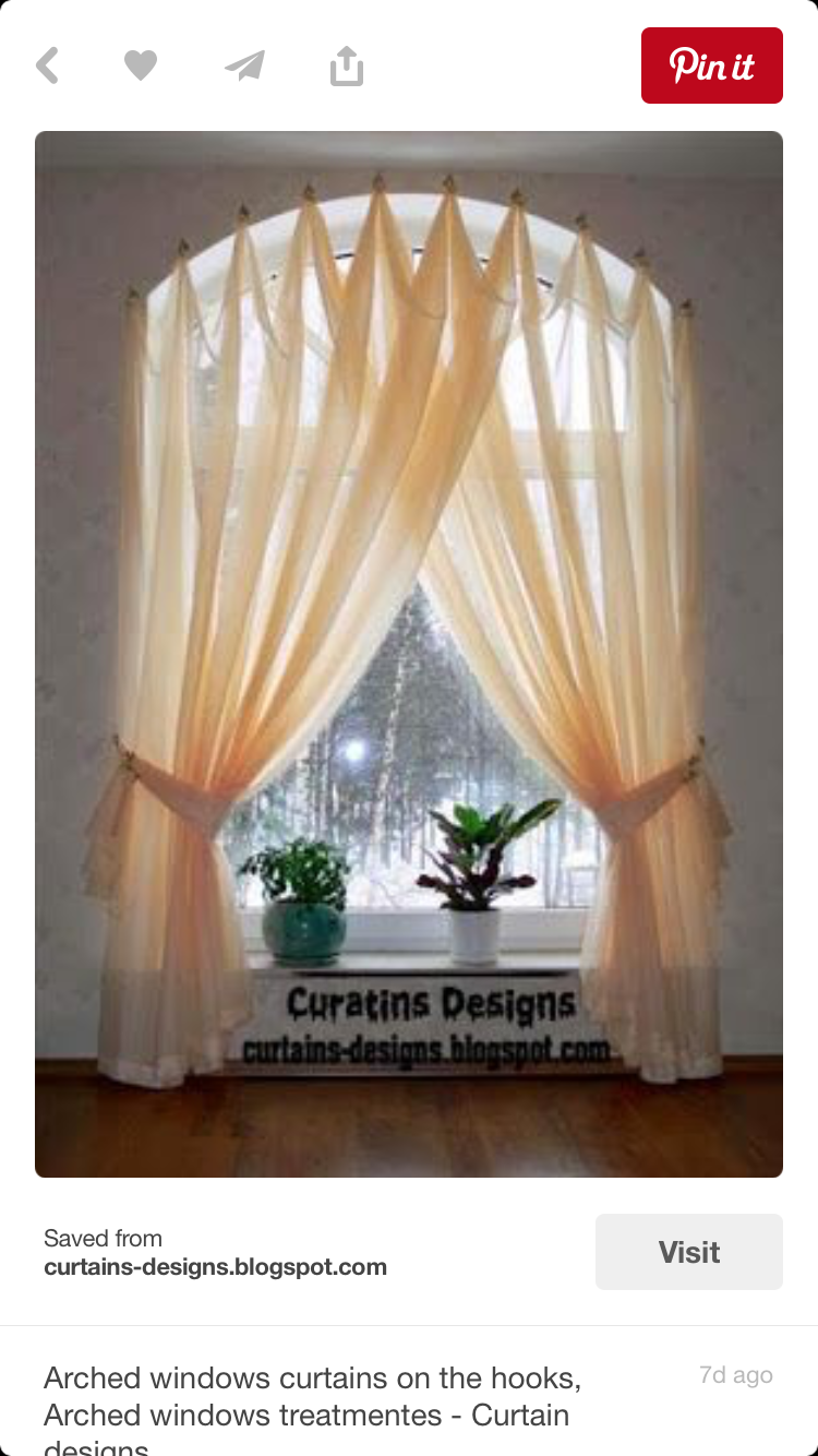 Window coverings arched windows  maria hamilton mhammy on pinterest