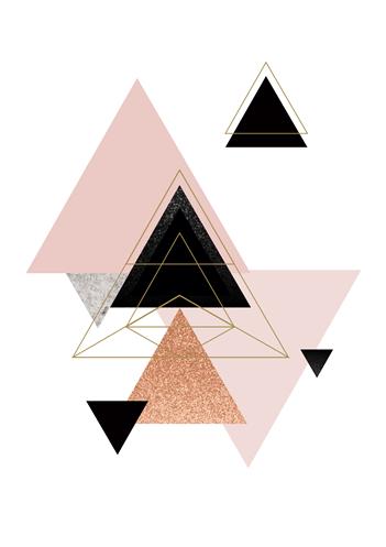 Triângulos rose cosmico