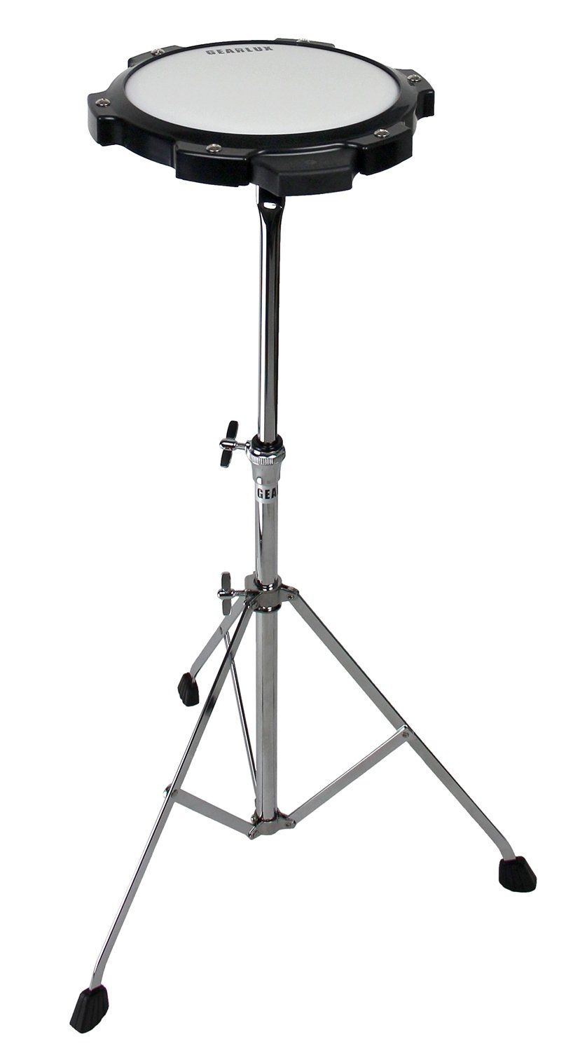 Gearlux 32note Glockenspiel Bell Kit With Adjustable Stand Drum Practice Pad Carrying Bag To View Further For This Item Visi Practice Pad Glockenspiel Drums