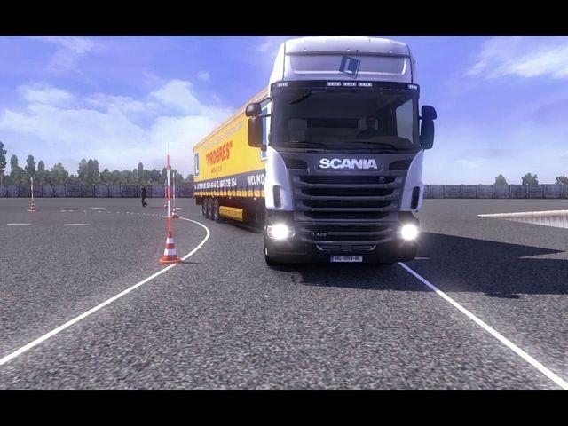 ETS2 – maneuvering ground by trucker2121 | ets2 mods – Euro