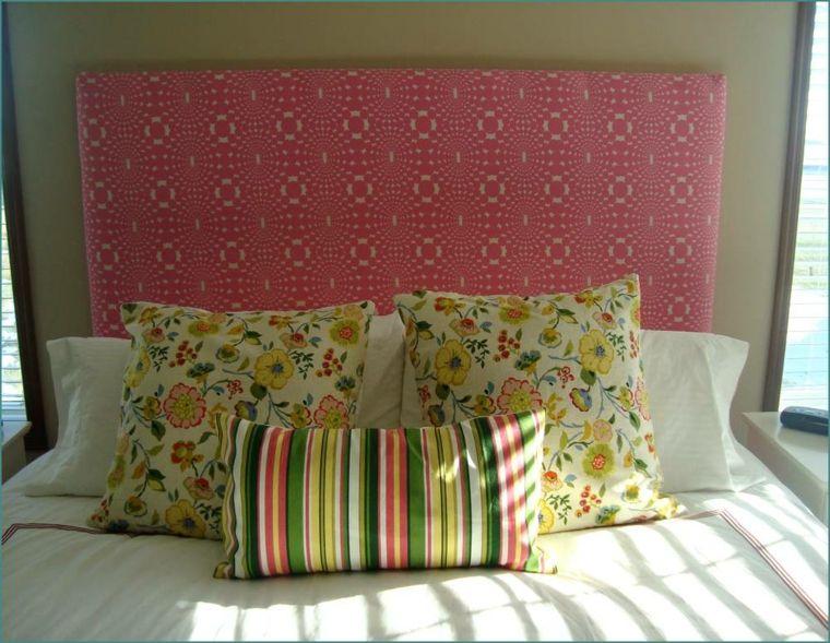 Como tapizar un cabecero cincuenta ideas originales como tapizar cabecero y tapizado - Tapizar cabezal cama ...