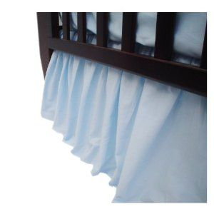 From Mima  American Baby Company Percale Crib Dust Ruffle