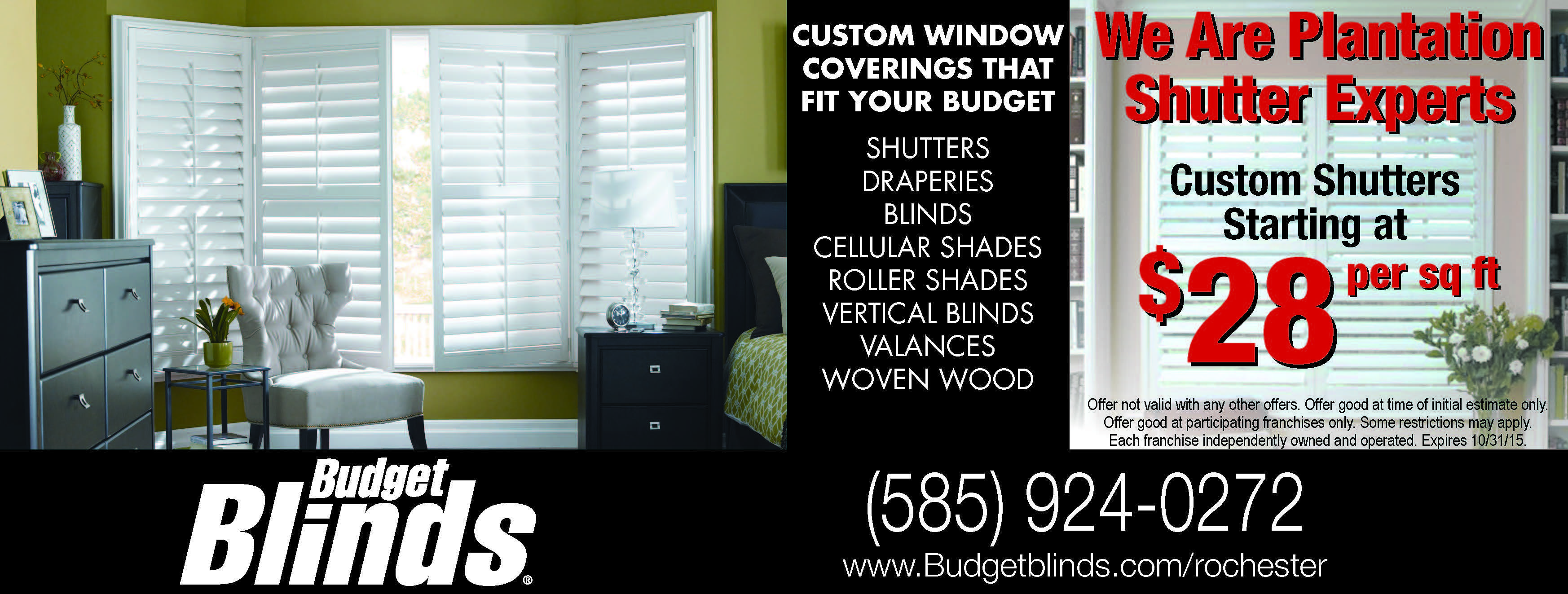 Window coverings of idaho  save on your blinds and shades with budget blinds now offering