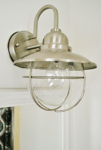 Switching Out The Bathroom Light Twice Bathroom Light Fixtures