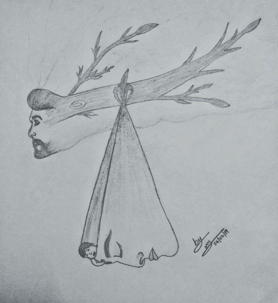 Pencil drawing amma appa | Amma appa pencil drawing | Pencil
