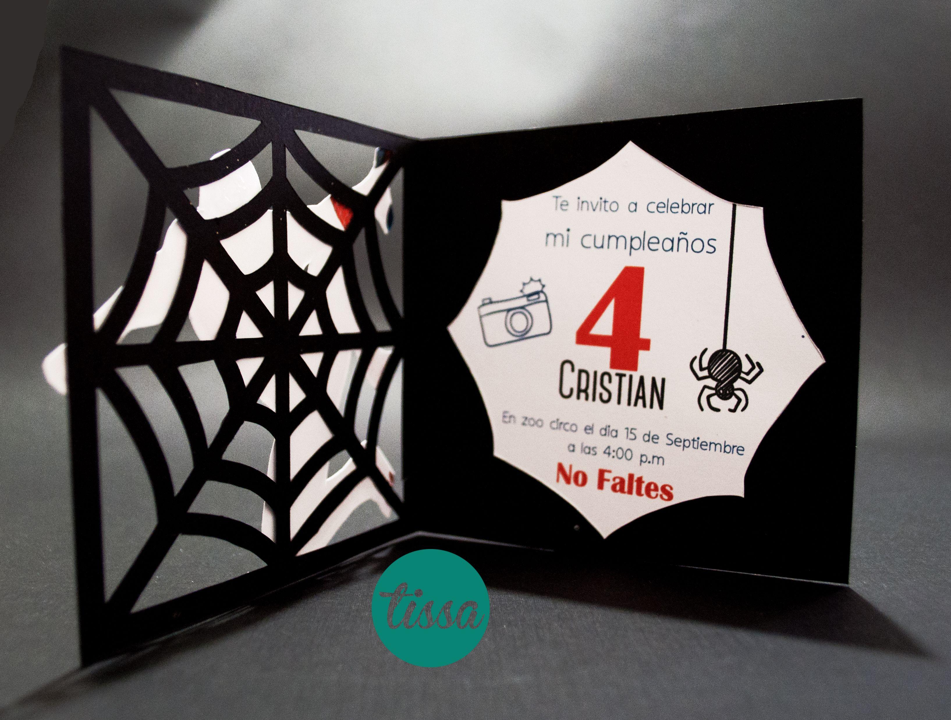 Invitaciones De Spider Man Spiderman Invitacion