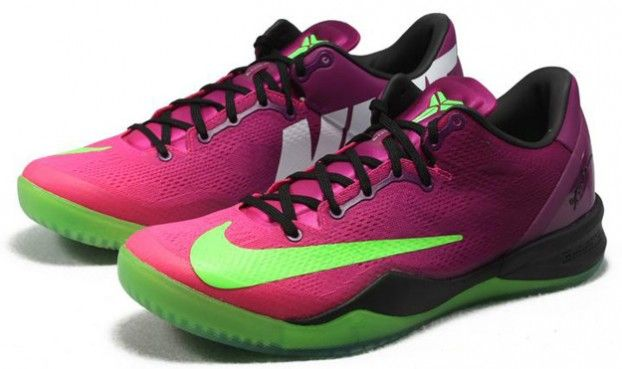 44a11bd8a0b Hot 2014 Nike Kobe 8 System MC Mambacurial Cheap sale Green Oran ...