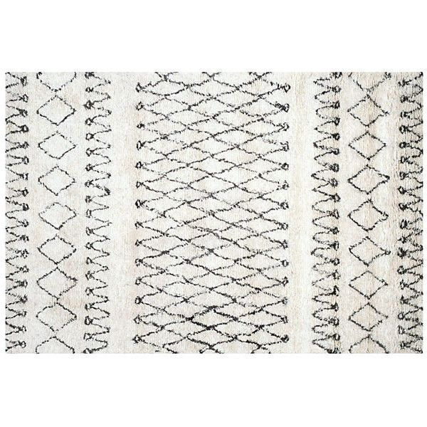 Cara Rug White Black Area Rugs 1 599 Liked On Polyvore