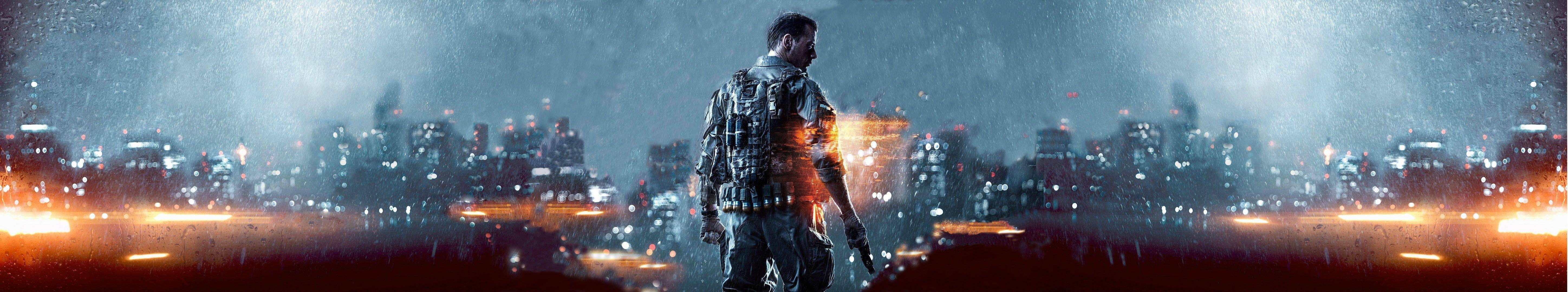 5760x1080] Battlefield 4 Triple screen wallpaper