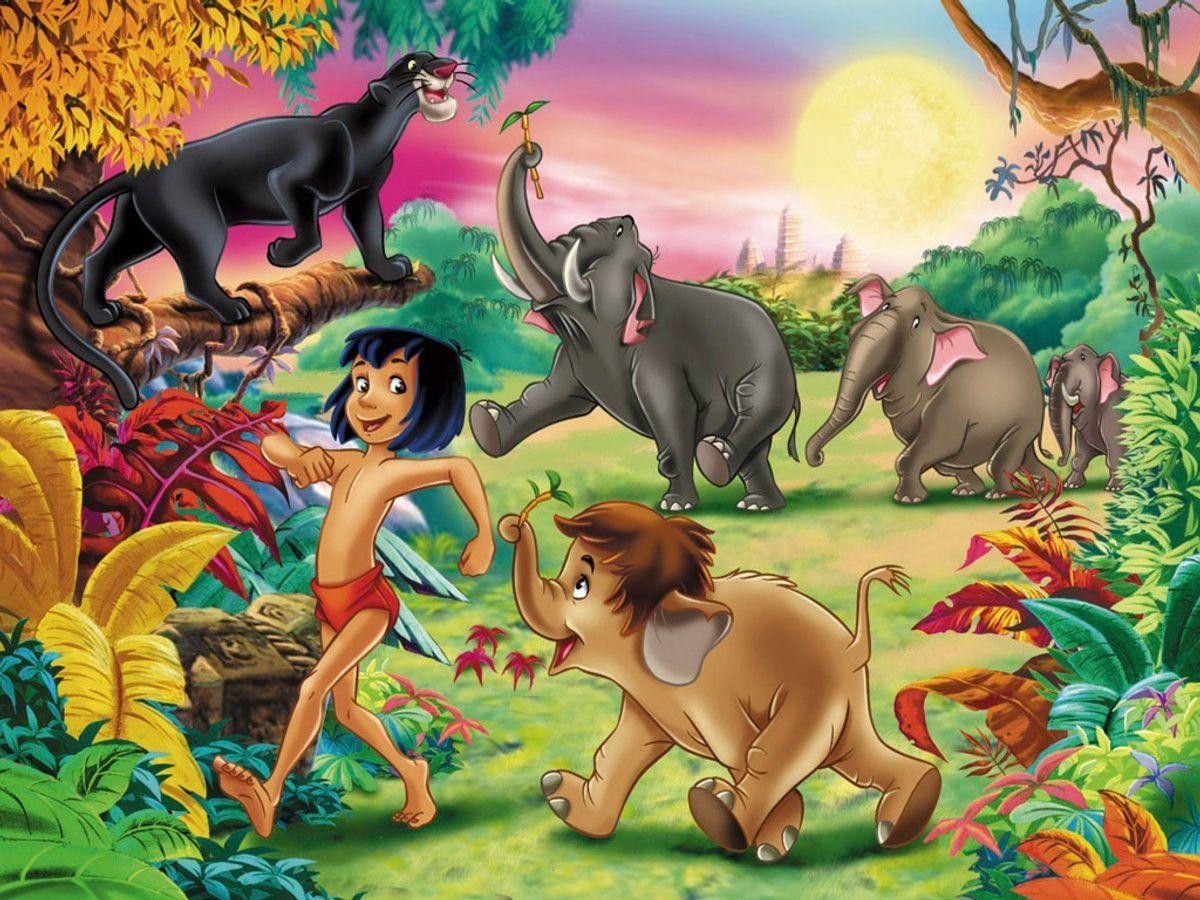 El Libro De La Selva El Cuento Vuelve A Estar De Moda Cuentos Y Fábulas Infantiles El Libro De La Selva Selva Dibujo Tarjetas Disney
