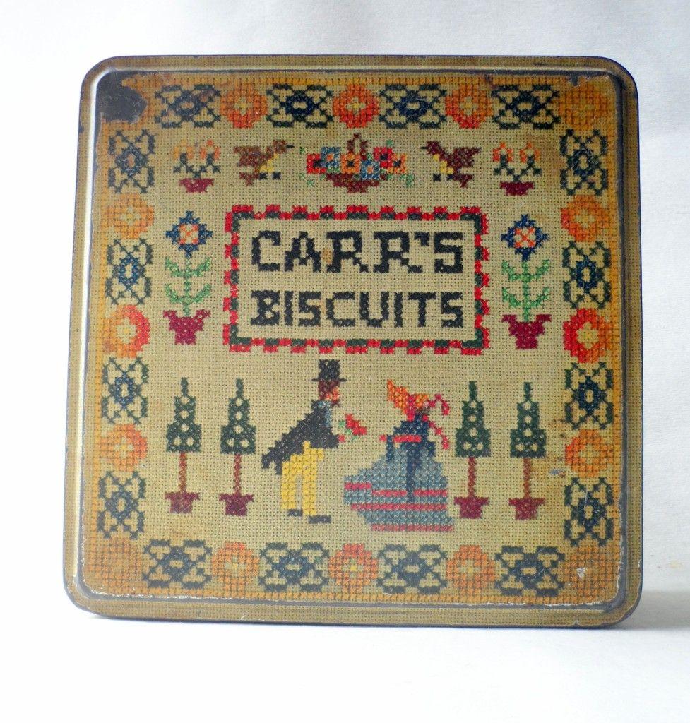 Carr's Ltd | Vintage Carr & Co Ltd Carlisle Tin Sampler Circa 1950s Motto Hudson ...