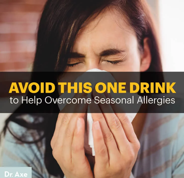 Avoid This One Drink to Help Seasonal Allergies