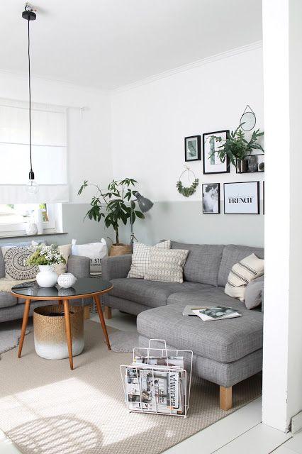 Photo of Breve aggiornamento del soggiorno: luminoso e fresco – Britta Bloggt