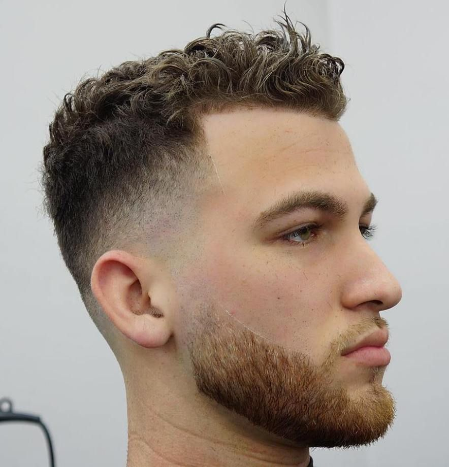 Side fade mens haircut  hottest menus curly hairstyles that attract women  hair ideas
