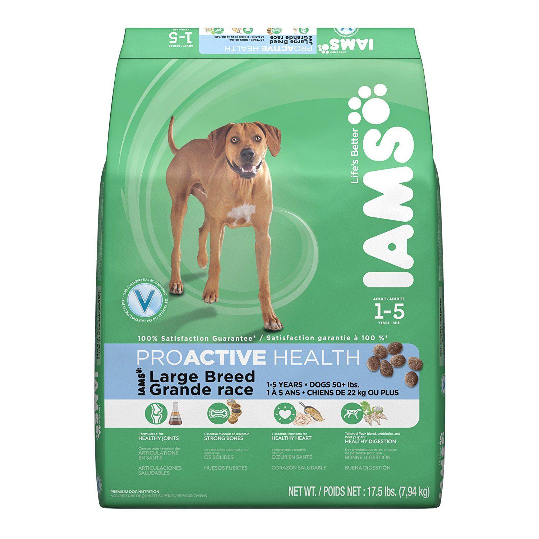 Iams proactive health large breed adult dry dog food 175
