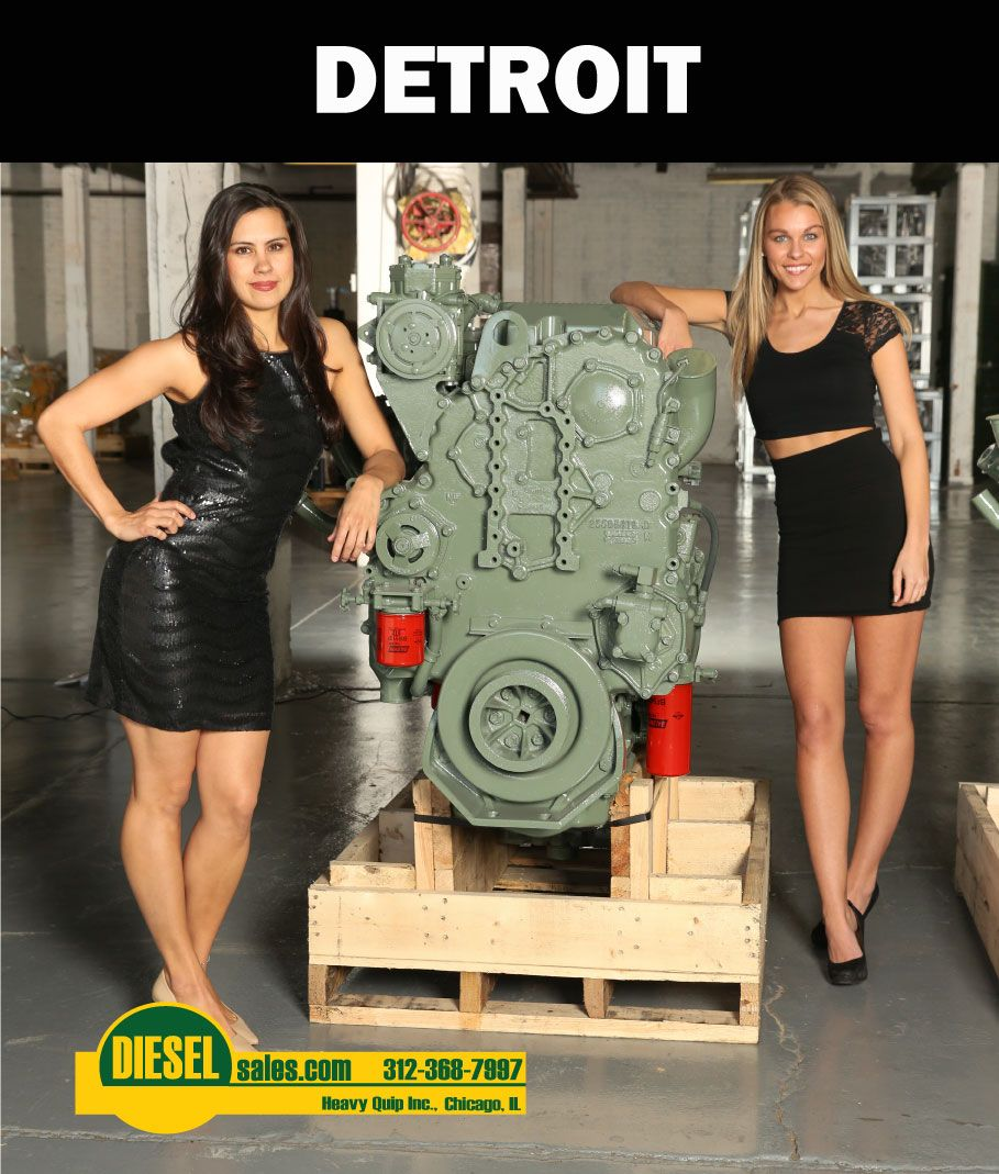 Detroit Diesel truck and industrial engines for sale. We buy them ...