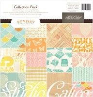 Heyday 12X12 Collection Pack By Studio Calico      16 sheets of 12x12 in. double-sided paper / 1 sticker sheet      Part of the Heyday collection.