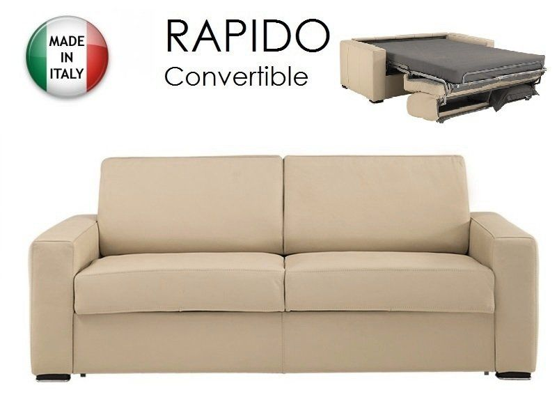Pin by inside75 on canap convertible rapido dreamer cuir - Lit convertible couchage quotidien ...