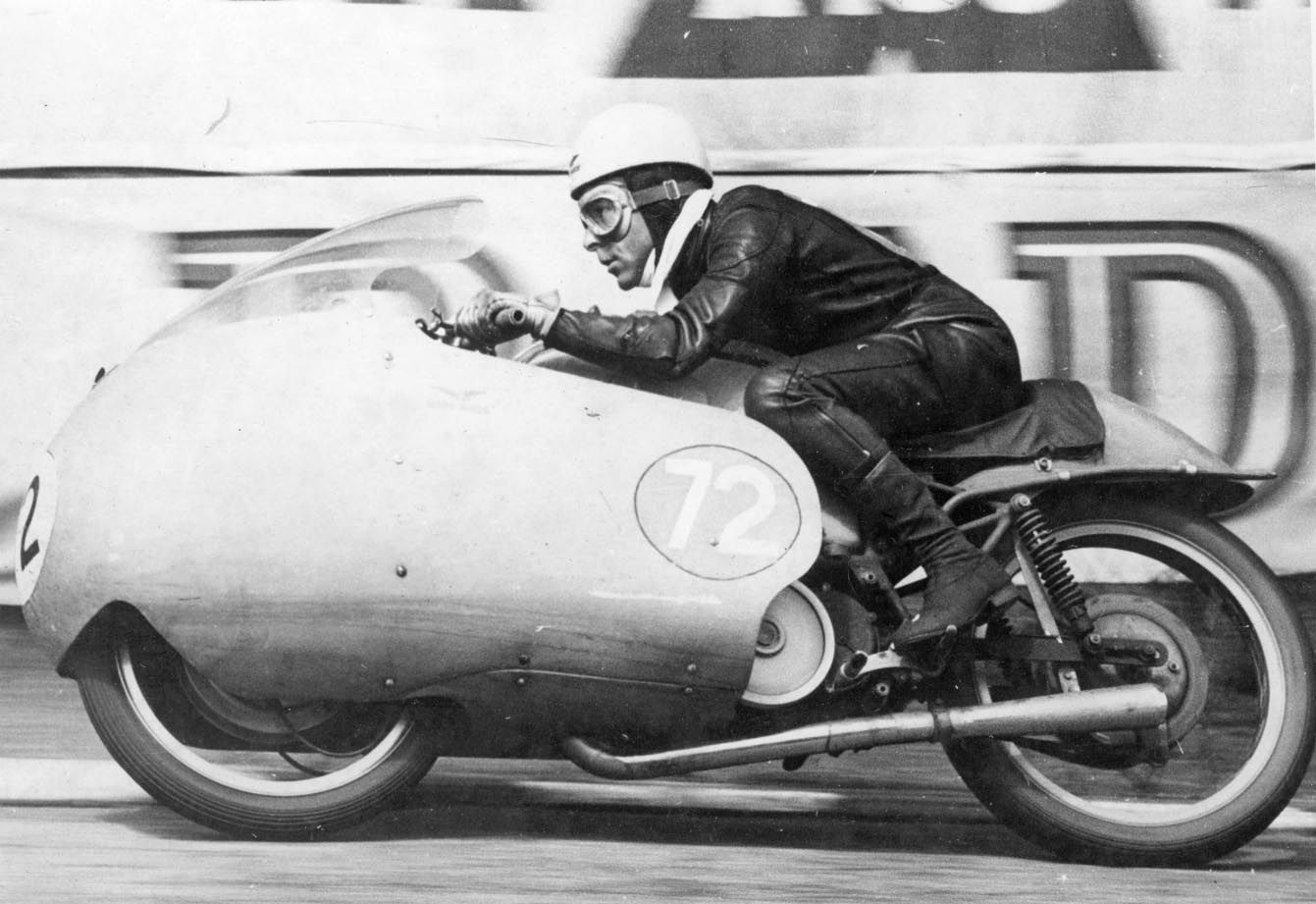 Ken Kavenagh 1956 IOM TT