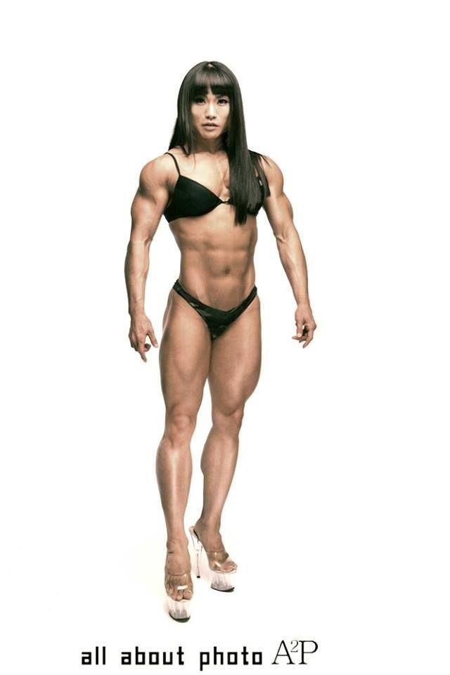 Kim Ji Hyun Chun Li Kim Kim Ji Hyeon Bodybuildster Korea