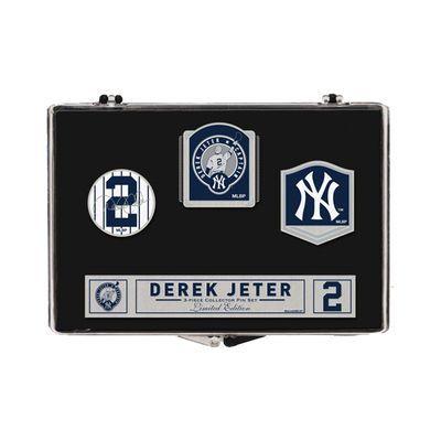 New York Yankees WinCraft Derek Jeter Number Retirement Pin Set
