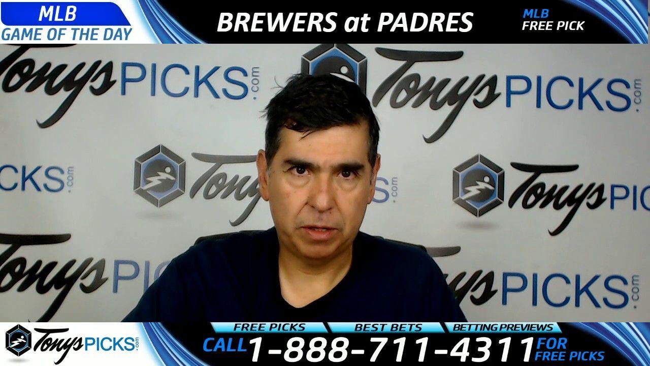 Milwaukee Brewers vs. San Diego Padres Free MLB Baseball