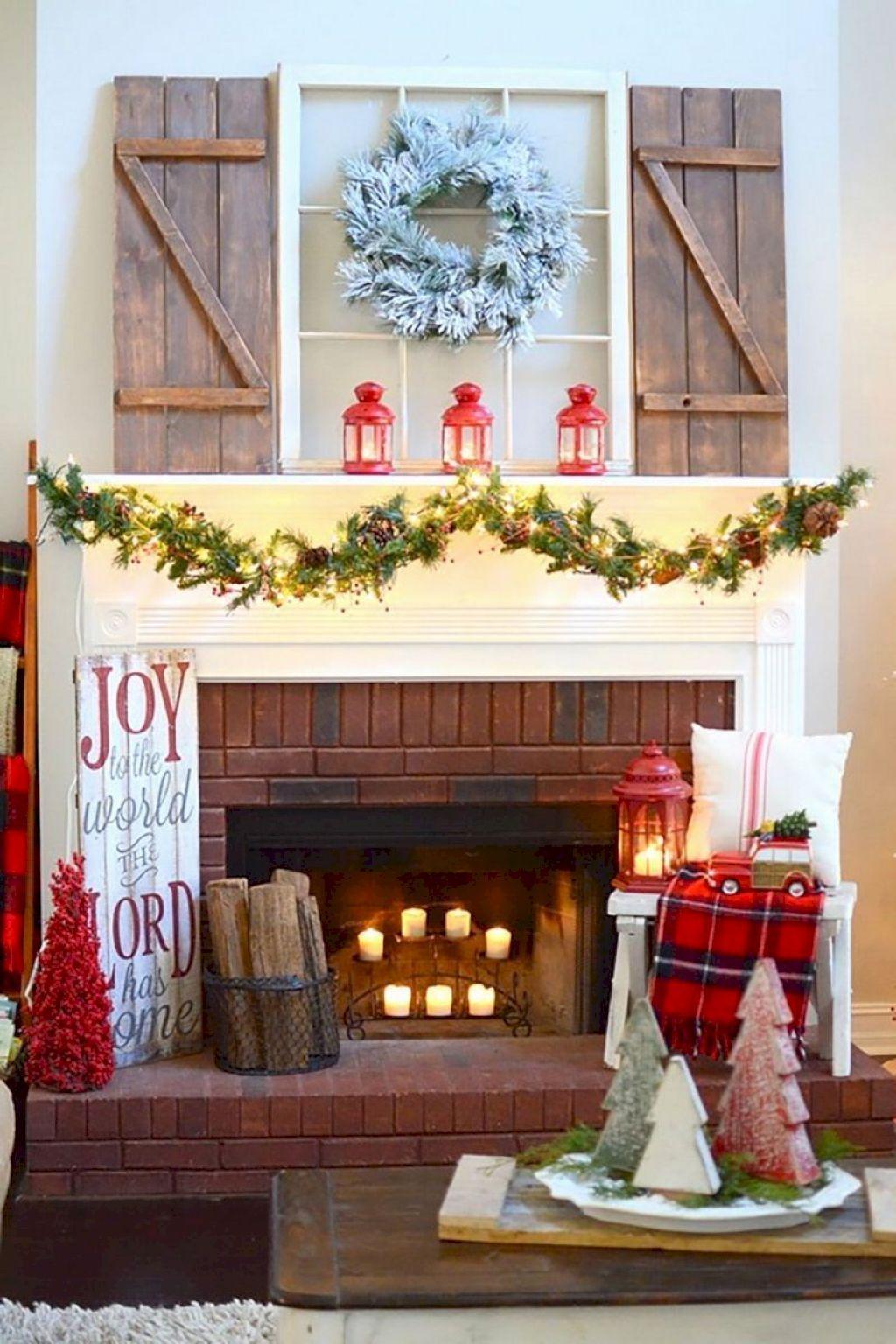 Diy farmhouse christmas decoration ideas on a budget 11