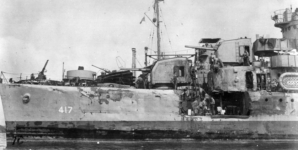 Resultado de imagen de destroyer morris coral sea