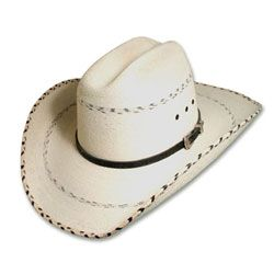 e9d1d625 Kenny Chesney - Mexican Palm Straw Cowboy Hat | Men's Hats | Leather ...