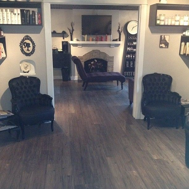 Come on in and have a seat! | Best salon, Black and tan ...