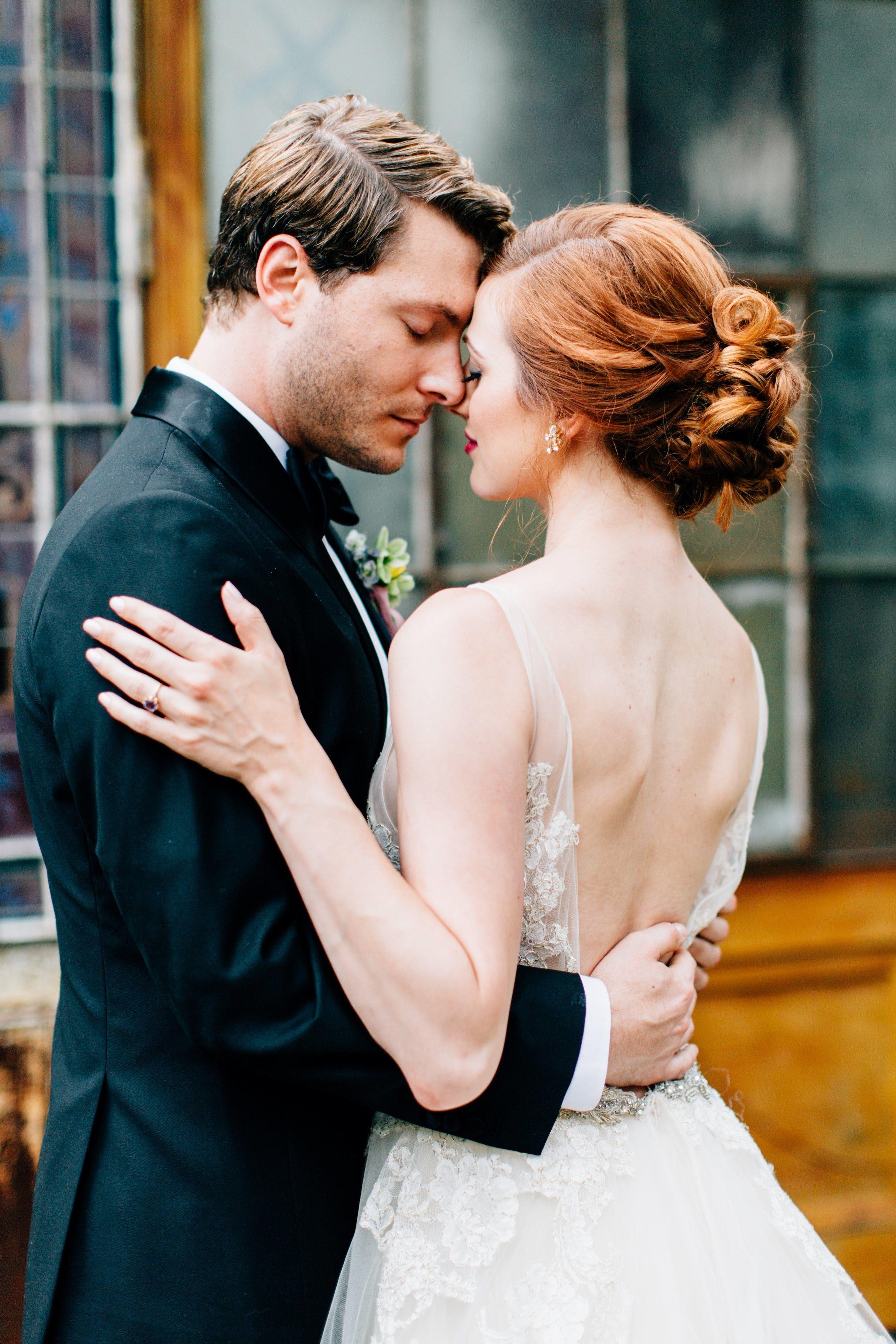 Elegant, OrganicInspired Elopement Featured wedding