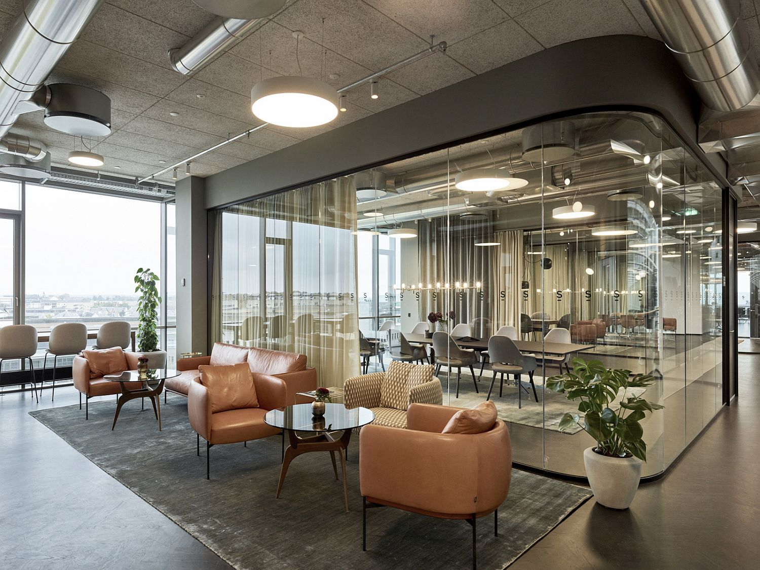 Modern Office Spaces Often Lack Character And Personality With Polished Surfaces Creating An Im Modern Office Space Modern Office Design Office Interior Design