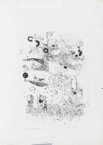 Feiten en commentaren 1 - S. Huismans - zonder jaar  Maat: 48cm x 34,5cm  Materiaal: litho  Inventarisnummer: SZ33310